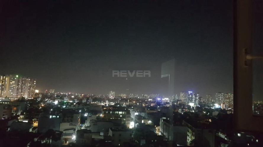 View Quang Thái Tower, Tân Phú Căn hộ Quang Thái Tower ban công hướng Nam, view thành phố.