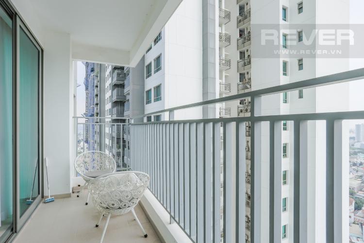 Ban Công Căn hộ The View Riviera Point tầng cao 2PN đầy đủ nội thất