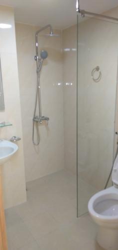 Phòng tắm Tecco Town, Bình Tân Căn hộ Tecco Town tầng trung, view nội khu thoáng mát.