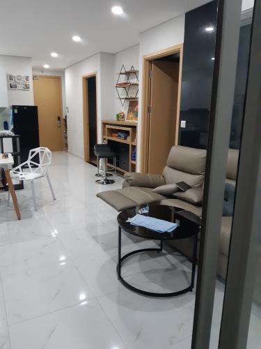 Phòng khách  căn hộ An Gia Riverside Căn hộ An Gia Riverside đầy đủ nội thất, ban công thoáng mát.