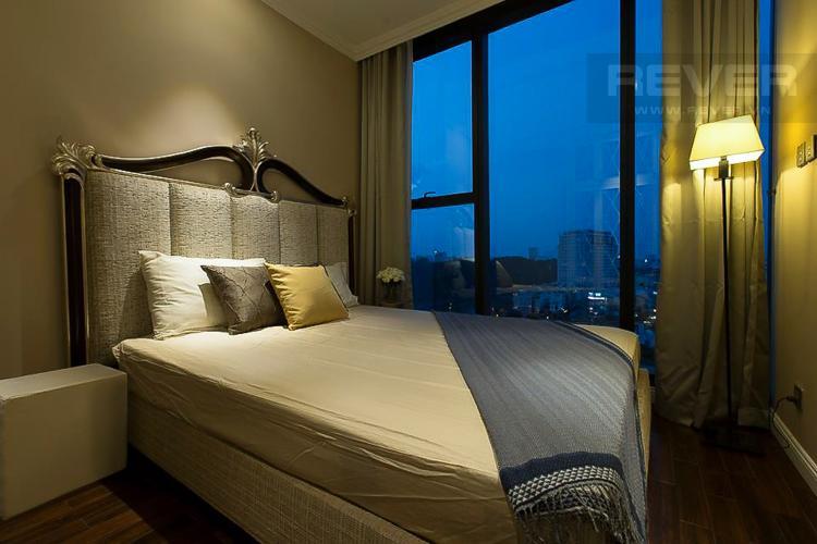 Phòng Ngủ 2 Cho thuê căn hộ Vinhomes Golden River 2PN, đầy đủ nội thất, thiết kế sang trọng