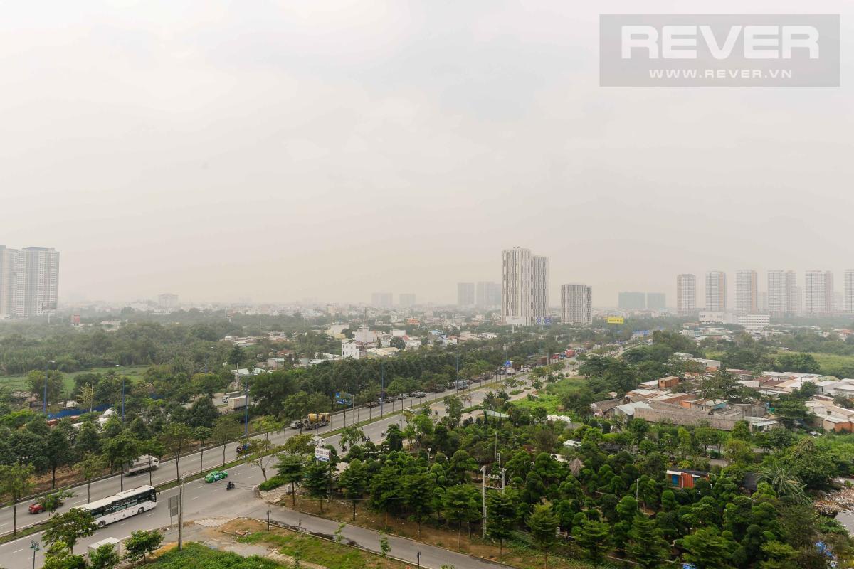 View Cho thuê căn hộ Lexington Residence 2PN, tầng thấp, đầy đủ nội thất, view đại lộ Mai Chí Thọ