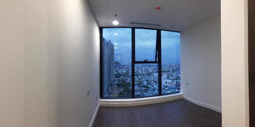 Phòng ngủ căn hộ Sunshine City Sài Gòn Căn hộ Sunshine City Saigon nội thất cơ bản, view tầng cao.