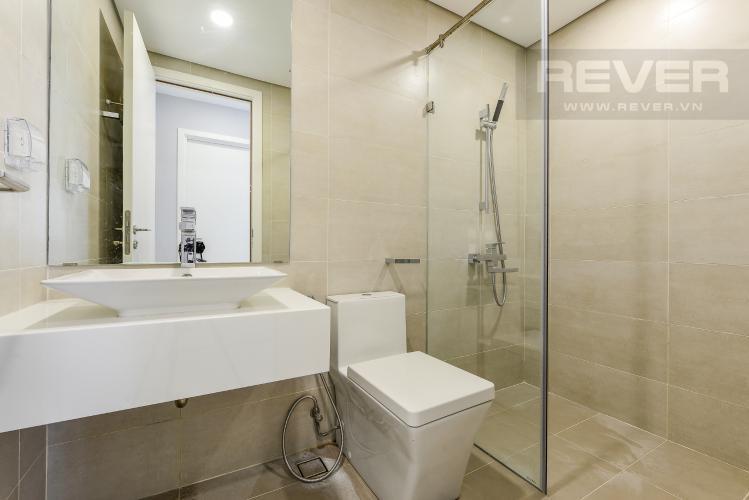 Phòng tắm 2 Cho thuê căn hộ Masteri Millennium tầng cao, 2PN, view sông
