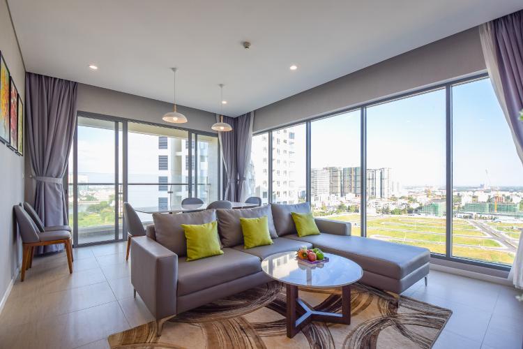 Cho thuê căn hộ Diamond Island 3PN 2WC, đầy đủ nội thất, view sông