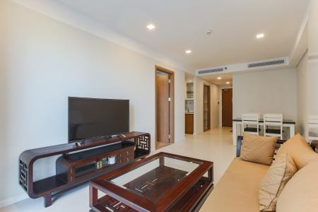 Cho thuê căn hộ 607B Rivera Park Sài Gòn 2PN, nội thất đầy đủ, view hồ bơi