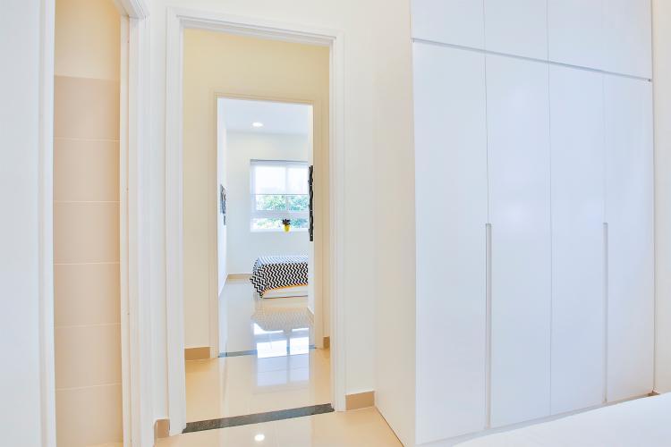 Nhà mẫu Topaz Home 2 Căn hộ Topaz Home 2 tầng trung, bàn giao nội thất cơ bản.