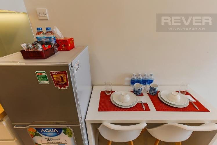 Bàn Ăn Officetel RiverGate Residence 1 phòng ngủ tầng trung tháp B nội thất đầy đủ