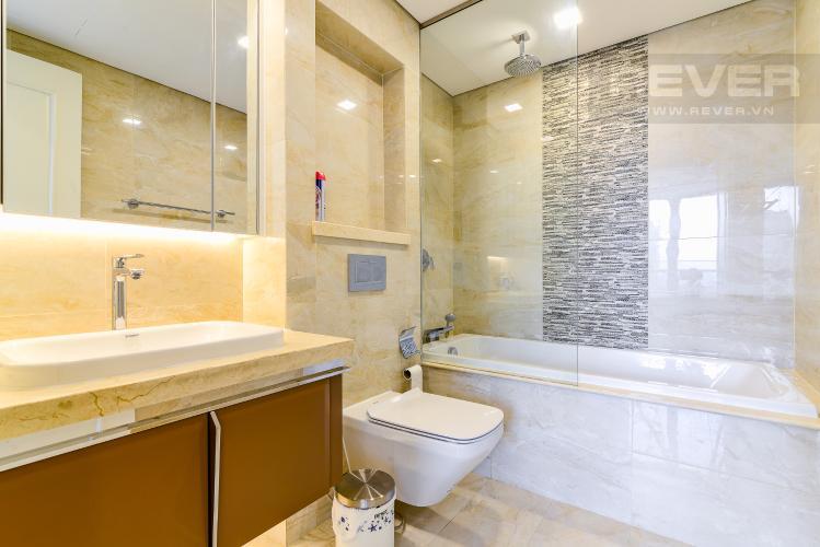 Phòng Tắm 2 Căn hộ Vinhomes Golden River tầng thấp, tháp A1, 3 phòng ngủ, full nội thất