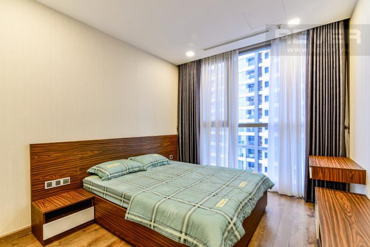 Phòng Ngủ 2 Bán căn hộ Vinhomes Central Park tháp Park 2 tầng trung, 2 PN và 2WC, đầy đủ nội thất