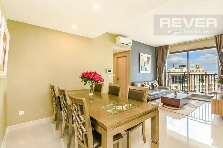 Phòng Ăn Bán căn hộ RiverGate Residence hướng Đông Bắc, 114m2, view thành phố