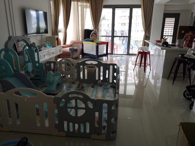 Căn hộ tầng thấp RiverPark Premier view nội khu, nội thất đầy đủ.