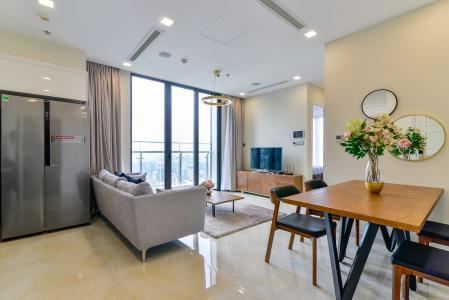 Cho thuê căn hộ Vinhomes Golden River tầng cao, 2PN, đầy đủ nội thất, view đẹp