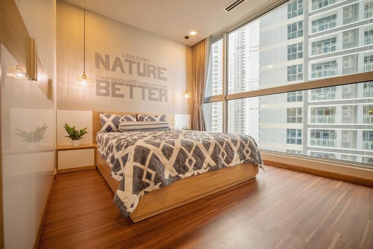 Phòng ngủ căn hộ Vinhomes Central Park Bán căn hộ Vinhomes Central Park 2PN, tháp The Central 3, diện tích 76m2, đầy đủ nội thất