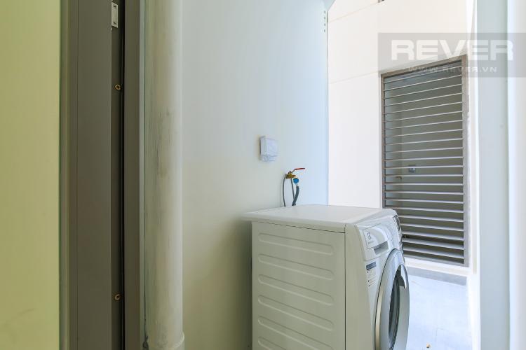 Logia Cho thuê căn hộ Masteri Millennium tầng trung, có ban công, 2PN