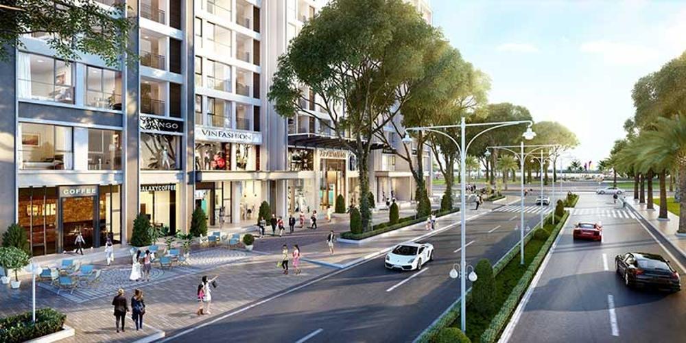 Khu vực xung quanh shop-house Masteri Millennium Shophouse Masteri Millennium đầu tư kỹ lưỡng, ban giao thô.