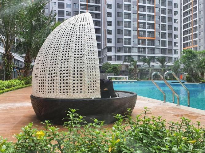 Safira Khang Điền, Quận 9 Căn hộ Safira Khang Điền tầng trung, cửa chính hướng Đông Nam.
