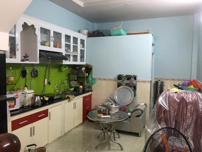 Bếp nhà phố Minh Phụng, Quận 6 Nhà phố diện tích 41.2m2, sổ hồng riêng bàn giao ngay.