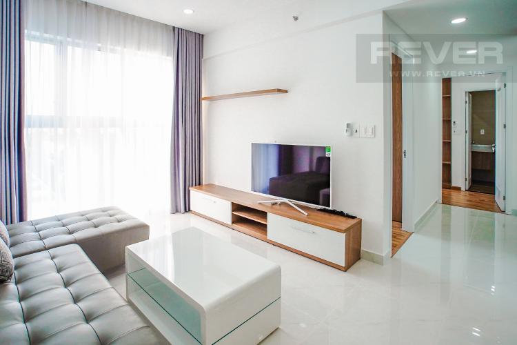 Phòng Khách và Lobby Cho thuê căn hộ Scenic Valley 77m2 2PN 2WC, nội thất tiện nghi, view đường phố