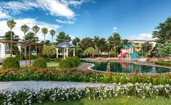 Không gian sống xanh mát tại khu đô thị Everde City