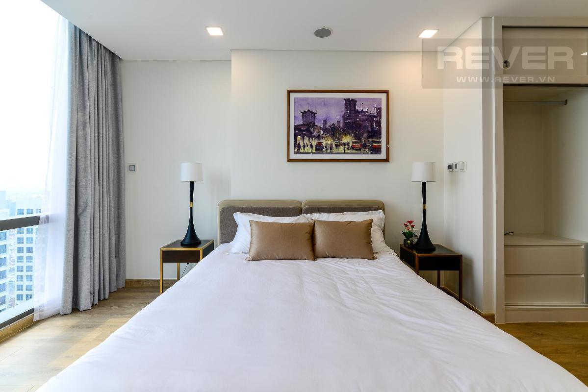 Phòng Ngủ 4 Bán hoặc cho thuê căn hộ Vinhomes Central Park 4PN, tháp Landmark 81, diện tích 164m2, đầy đủ nội thất, căn góc view thoáng