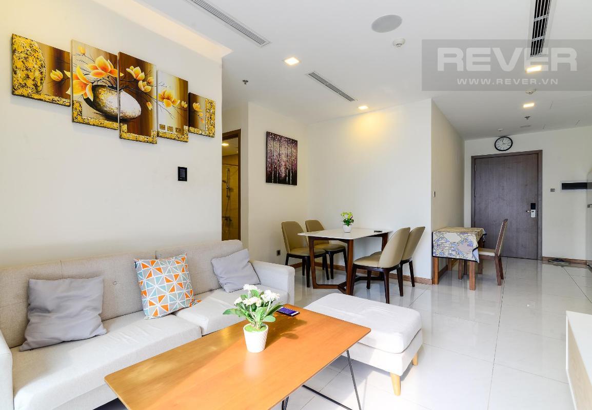 0 Cho thuê căn hộ Vinhomes Central Park 2PN, tầng thấp, diện tích 75m2, đầy đủ nội thất, view nội khu