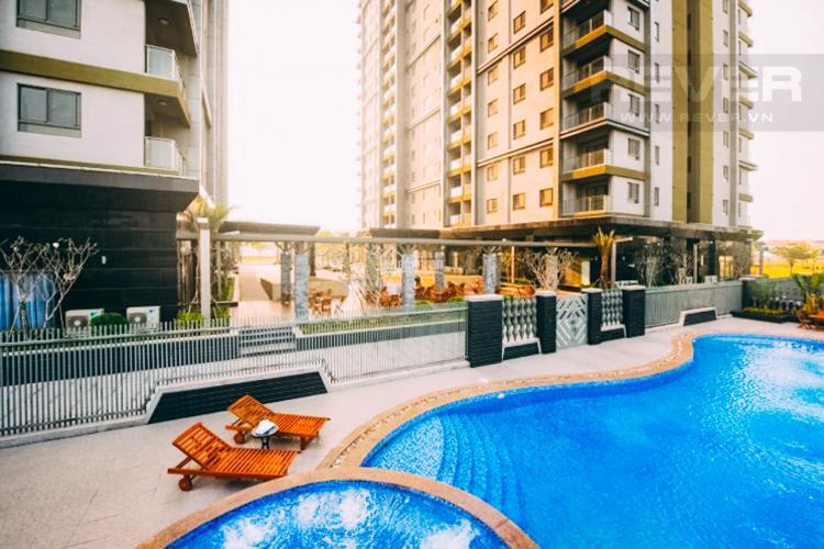 View Hố Bơi Căn hộ Docklands Sài Gòn tầng thấp, 3PN đầy đủ nội thất