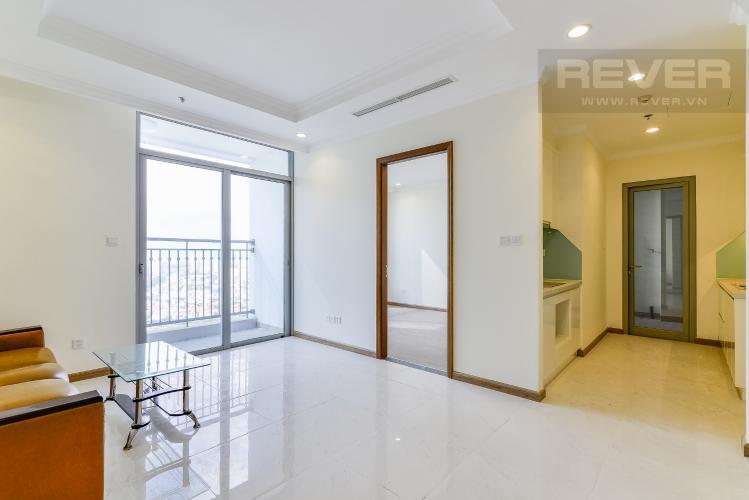 Phòng Khách & Bếp Căn hộ Vinhomes Central Park 3 phòng ngủ tầng cao L2 view sông