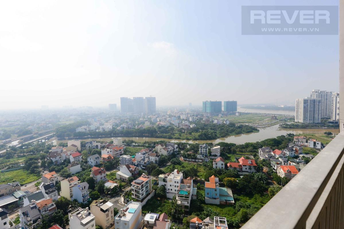 VIEW Cho thuê căn hộ The Sun Avenue 2 phòng ngủ, tầng cao, block 5, view Đông Nam thoáng mát