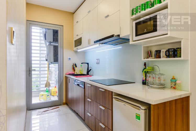 Bếp Căn hộ Vinhomes Central Park tầng thấp, Park 7, 2 phòng ngủ, view nội khu