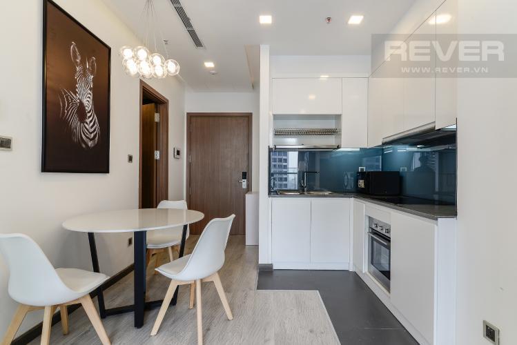 Phòng Ăn & Bếp Căn hộ Vinhomes Central Park tầng cao P6, 1PN nội thất đầy đủ