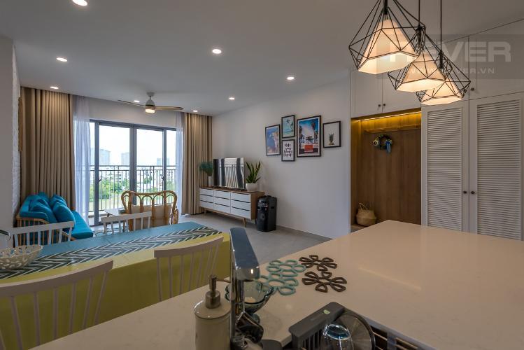 Cho thuê căn hộ Palm Heights 3PN, tầng thấp, đầy đủ nội thất, view sông và nội khu