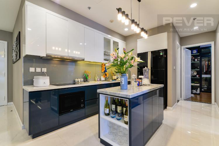 Nhà Bếp Căn hộ Vinhomes Central Park tầng cao, 2PN đầy đủ nội thất