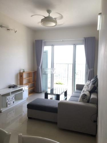 Phòng khách căn hộ Jamona City, Quận 7 Căn hộ Jamona City nội thất cơ bản, view nội khu vô cùng thoáng mát.