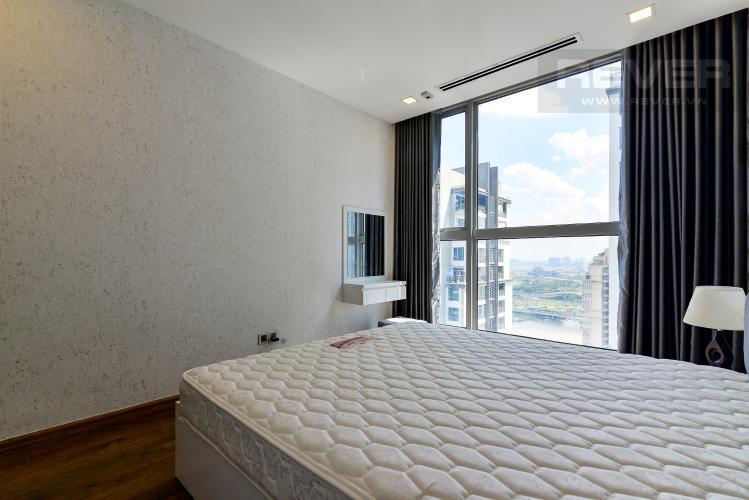 Phòng Ngủ 2 Cho thuê căn hộ Vinhomes Central Park 3PN, tháp Park 1, đầy đủ nội thất, hướng Tây Bắc