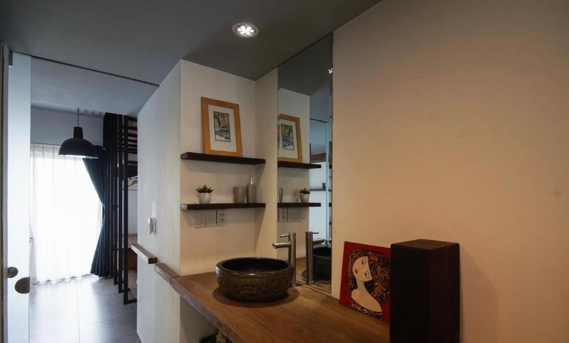 Phòng bếp Masteri Thảo Điền Quận 2 Căn hộ Masteri Thảo Điền view sông, nội thất đầy đủ.