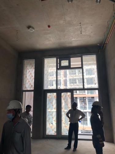 Căn hộ Phú Mỹ Hưng Midtown Bán căn hộ 1 phòng ngủ tầng thấp Phú Mỹ Hưng Midtown, diện tích 42.9m2, bàn giao thô.