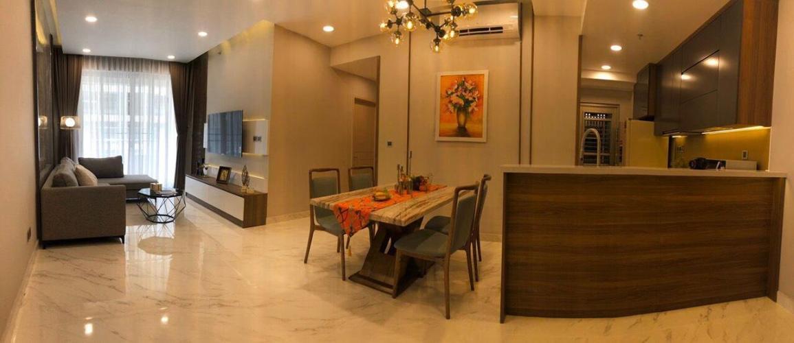 tổng quát căn hộ Phú Mỹ Hưng Midtown Căn hộ Phú Mỹ Hưng tầng trung đầy đủ nội thất sang trọng.