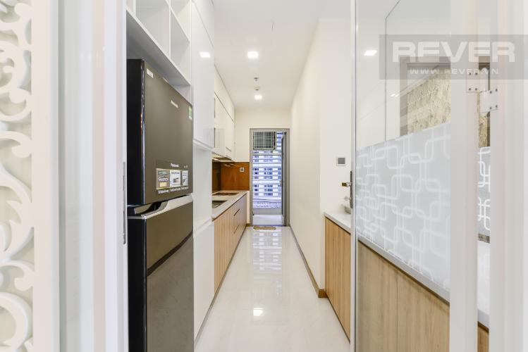 Nhà Bếp Cho thuê căn hộ Vinhomes Central Park tầng thấp, 2PN, đầy đủ nội thất