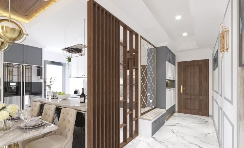 Nội thất căn hộ Saigon South Residence Căn hộ Saigon South Residence đầy đủ nội thất, ban công hướng Bắc