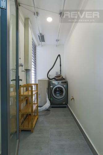 Logia Cho thuê căn hộ Masteri Millennium tầng cao, 2PN, đầy đủ nội thất