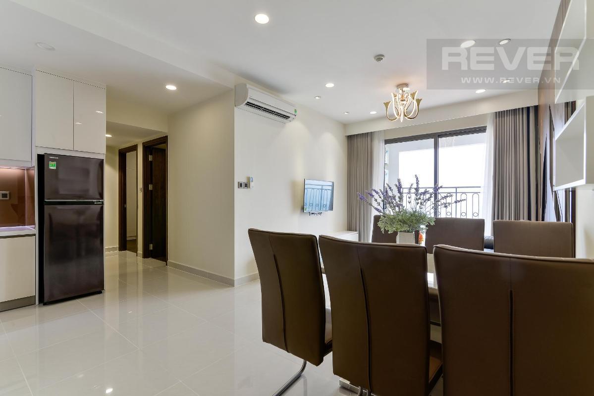 bc7f59d7188afed4a79b Cho thuê căn hộ The Tresor 2PN, tháp TS1, diện tích 86m2, đầy đủ nội thất, view Bitexco và sông Sài Gòn
