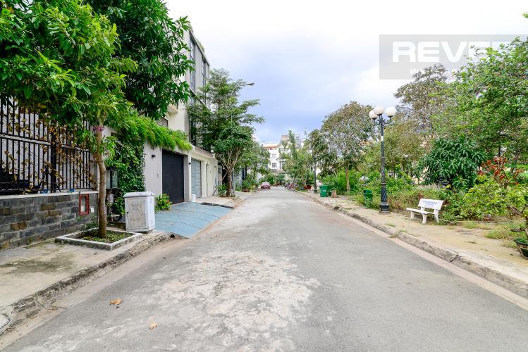 Lộ Giới Cho thuê biệt thự đường số 37, phường An Khánh, Quận 2, đầy đủ nội thất, diện tích đất 182m2, cách đường Lương Định Của 600m