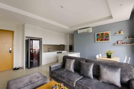 Cho thuê căn hộ Diamond Island - Đảo Kim Cương 2PN, tháp Bahamas, đầy đủ nội thất, view sông và Landmark 81