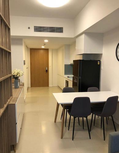 Studio Gateway Thảo Điền Căn hộ Studio Gateway Thảo Điền nội thất đầy đủ, phong cách tối giản.