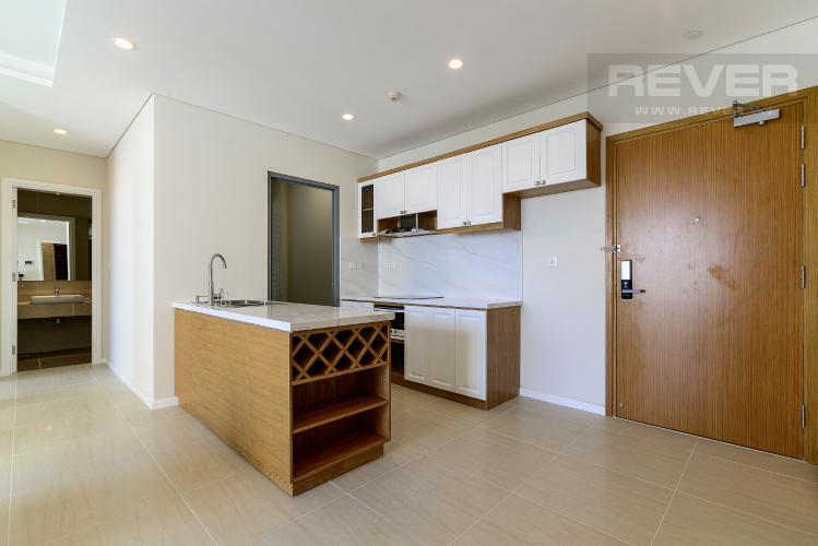 Nhà Bếp Bán căn hộ Đảo Kim Cương 2 phòng ngủ tầng trung tháp Bora Bora, đầy đủ nội thất, view sông và nội khu