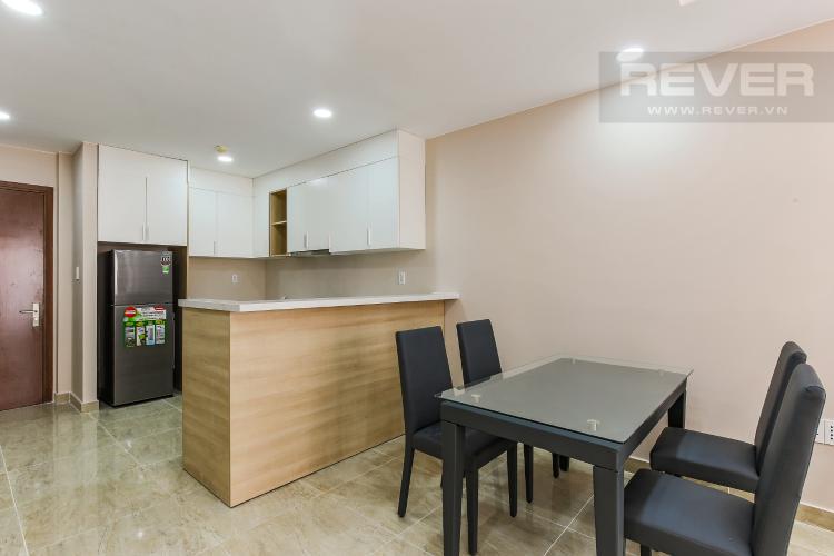 Phòng Bếp Căn hộ The Gold View 2 phòng ngủ tầng trung A1 view sông