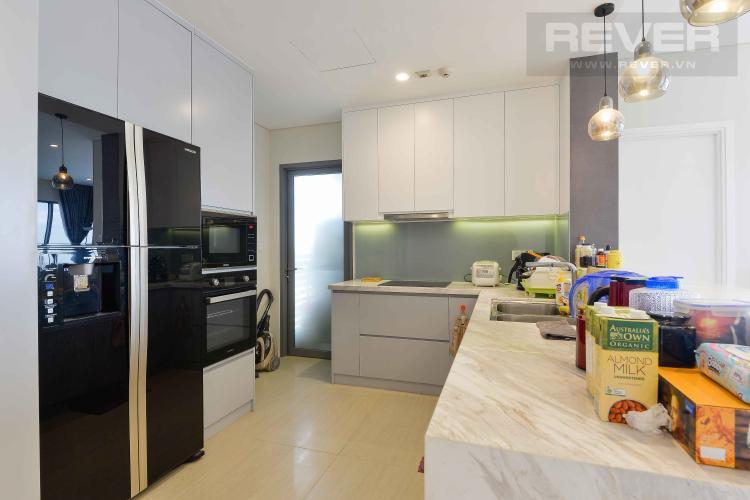 Bếp Bán căn hộ Diamond Island - Đảo Kim Cương 3PN, tầng cao, đầy đủ nội thất, view sông đón gió