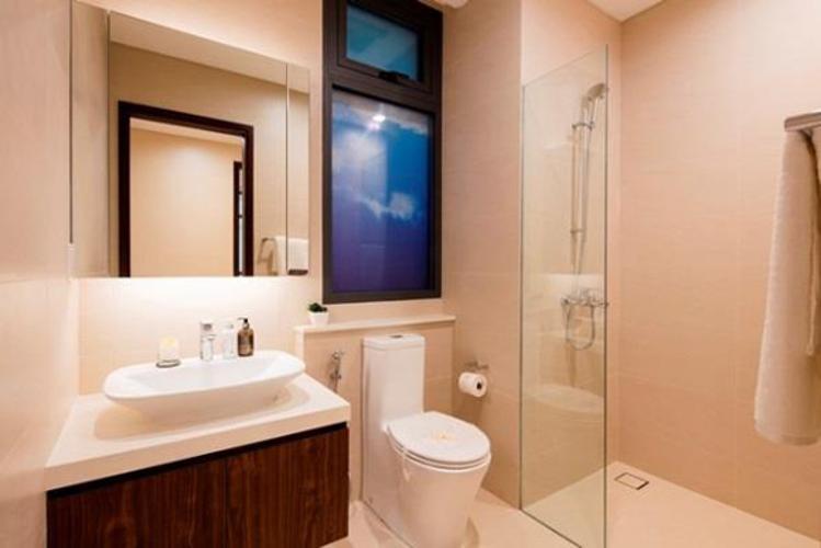 Phòng tắm One Verandah Quận 2 Căn hộ One Verandah đầy đủ nội thất, view sông và thành phố.