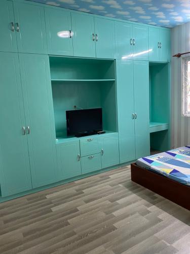 Phòng ngủ Khánh Hội 2, Quận 4 Căn hộ Khánh Hội 2 đầy đủ nội thất, ban công rộng rãi, 2 phòng ngủ.